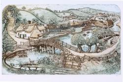 Flatford Bridge Print