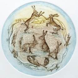 March Hares Print