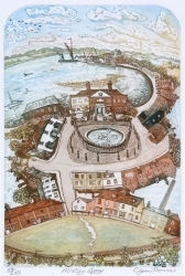 Mistley Quay Print