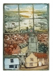 St. Mary's Woodbridge Print