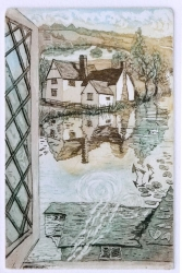 Willy Lott's Cottage Print