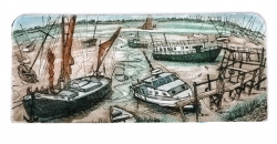 Heybridge Boats Print