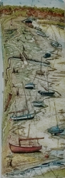 Blakeney Moorings Print