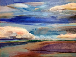Cloudscape II Painting