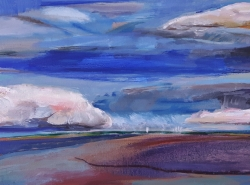 Cloudscape I Painting