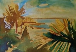 Picasso's View Painting by Heidi Jukes