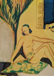 Nusch Eluard, Mougins Painting