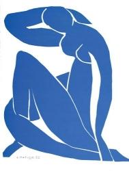 Nu Bleu 12 Print