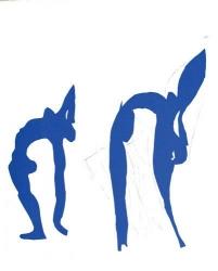 Acrobats Print