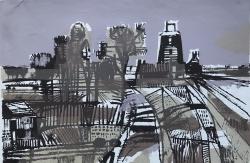 untitled landscape Print