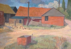 Lodge Farm at Brightlingsea Painting