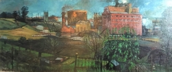 Gas Works, Colchester Painting by Henry Collins