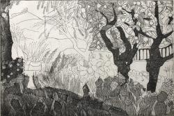 Casa Cusemi, Sicily Print by Hugh Cronyn