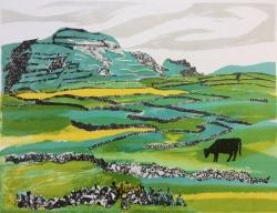 Donegal Landscape, Print