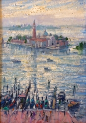 From the Campanile, Venice Painting