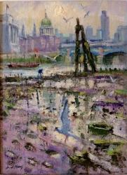 Below St. Pauls Painting