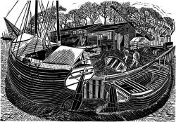 Shipwrights Yard Print