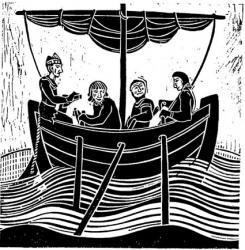 Rowing Print