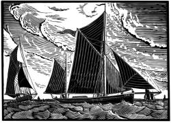 Pioneer at Sea Print