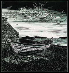 Overhaul, Shetland Foureen Print