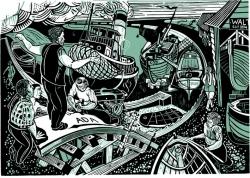 Maldon Shipwrights Print
