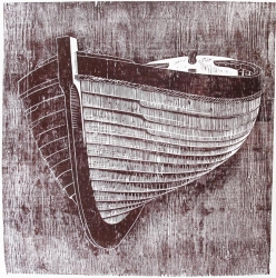 Red Boat Print
