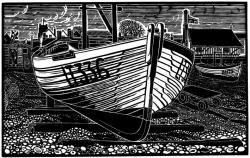 Aldeburgh Lobster Boat Print