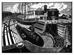 T. Neilson Shipyard, Gloucester, Print