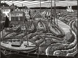 Falmouth Town Quay Print