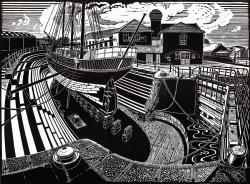 Gloucester Docks Print
