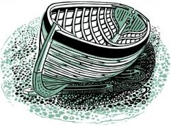 Clinker Boat Print