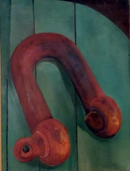 Broken Shackle Painting