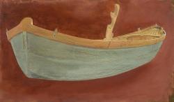 Venetian Work Boat 1 (Study) Painting