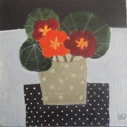 Nasturtiums Painting