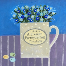 Forget-me-nots Painting
