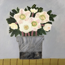 Hellebores, Snape Painting