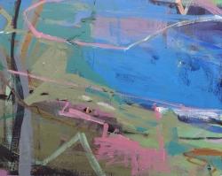 River Bank Summer Painting