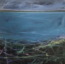 Low Tide, Wrabness Painting