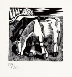 Horse Grazing 4 Print