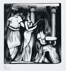 Ad Cypassiam (variant,not used) Ovid's Elegies Print