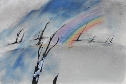 Desolate Rainbow Print