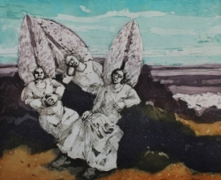 Angels Resting Print