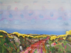 Pathway to the Sea, Corwall Painting