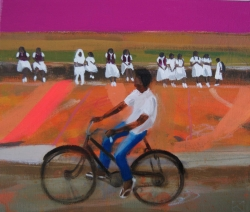 Schools Out, Sri Lanka Painting