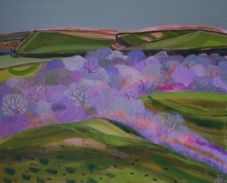 Valley Near Mudgeon, Cornawll Painting