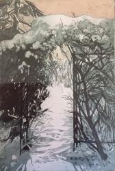 Path to The Garden Print