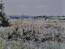 Sun and Showers, Stour Estuary Painting