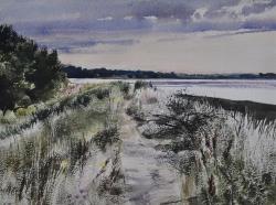 Summer Fields, Little Waldingfield Painting
