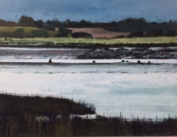 The Colne, beyond the Barrier Painting