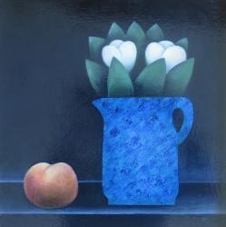 Blue Jug Painting